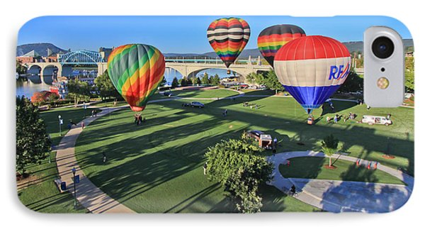 Balloons In Coolidge Park Phone Case by Tom and Pat Cory