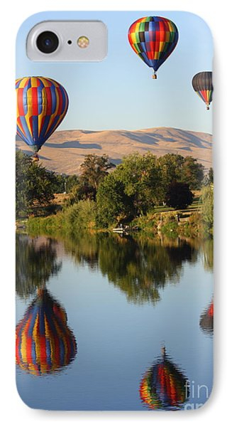 Balloons Over Horse Heaven Phone Case by Carol Groenen