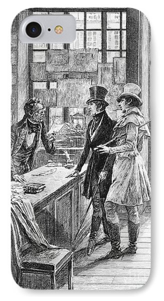 Balzac: Illustration Phone Case by Granger