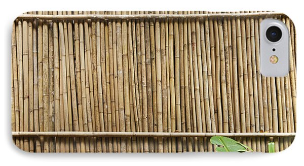 Bamboo Fence IPhone Case