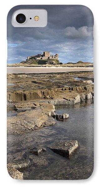 Bamburgh, Northumberland, England Phone Case by John Short