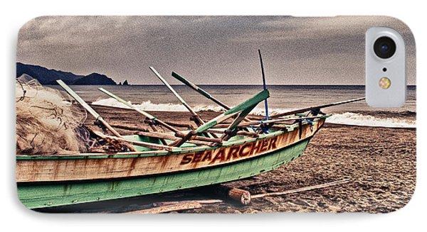 Banca Boat 2 Phone Case by Skip Nall