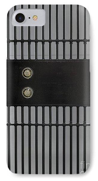 Bank Vault Gate Phone Case by Adam Crowley