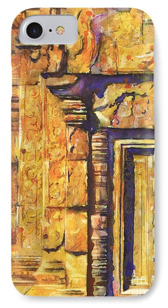 Banteay Srei Doorway Phone Case by Ryan Fox