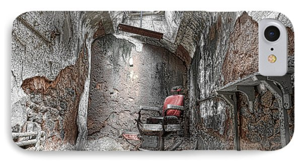 Barber - Chair - Eastern State Penitentiary IPhone Case