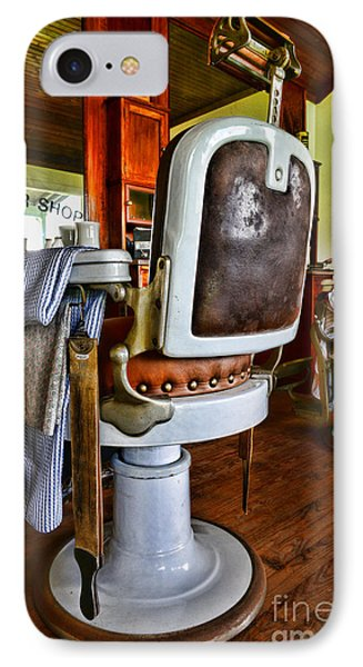 Barber - Barber Chair Phone Case by Paul Ward