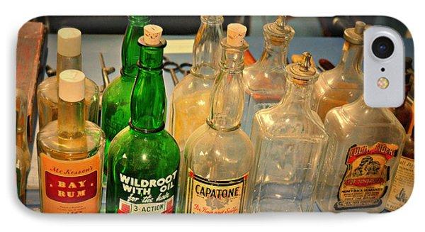Barber Bottles Phone Case by Marty Koch