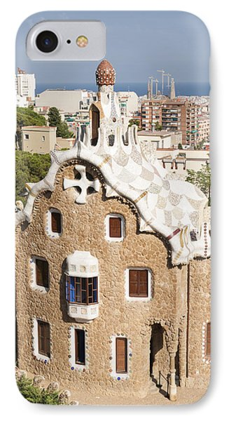 Barcelona Parc Guell Phone Case by Matthias Hauser