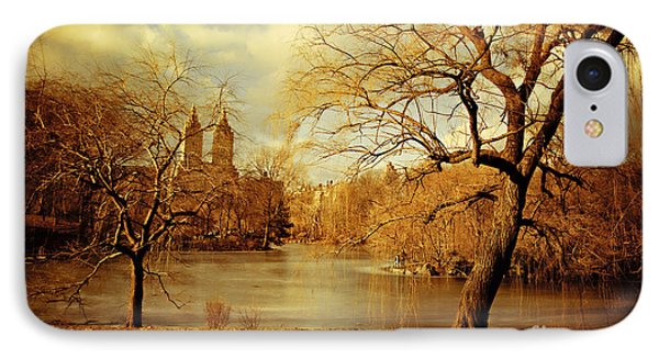 Bare Beauty In Central Park IPhone Case