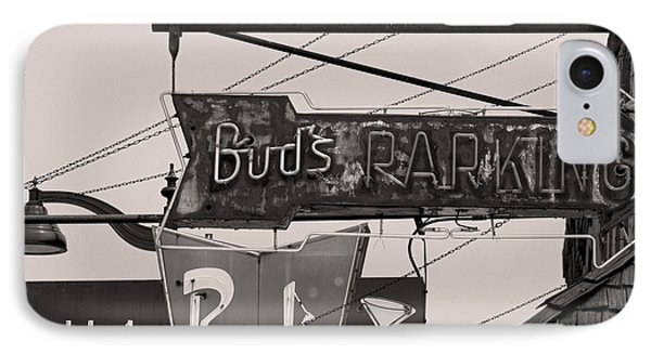 IPhone Case featuring the photograph Barhopping At Buds 1 by Lee Craig