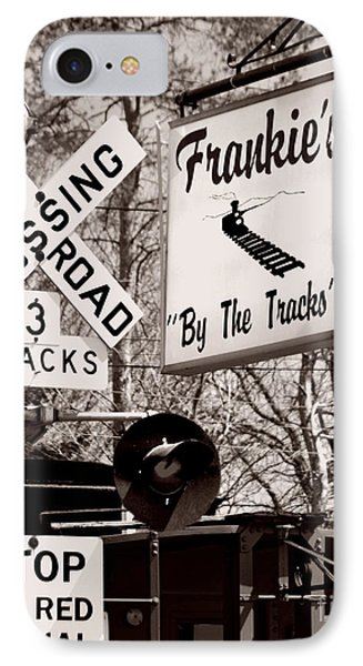 IPhone Case featuring the photograph Barhopping At Frankies 1 by Lee Craig