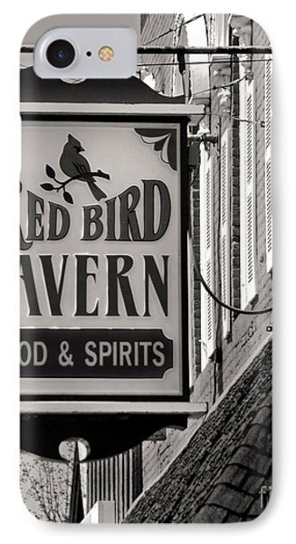 IPhone Case featuring the photograph Barhopping At The Red Bird 1 by Lee Craig