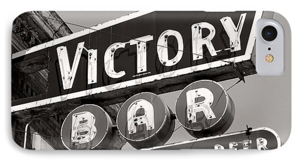 IPhone Case featuring the photograph Barhopping At The Victory 1 by Lee Craig
