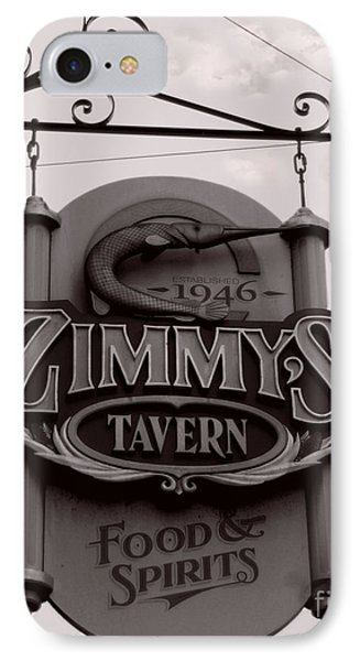 IPhone Case featuring the photograph Barhopping At Zimmys 1 by Lee Craig