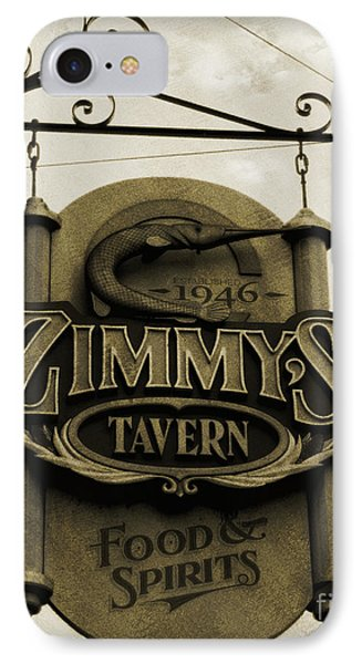 IPhone Case featuring the photograph Barhopping At Zimmys 2 by Lee Craig