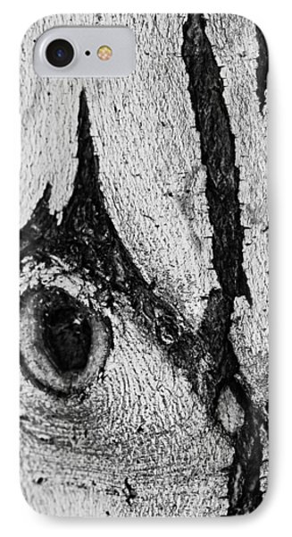 IPhone Case featuring the photograph Bark Eye by Colleen Coccia