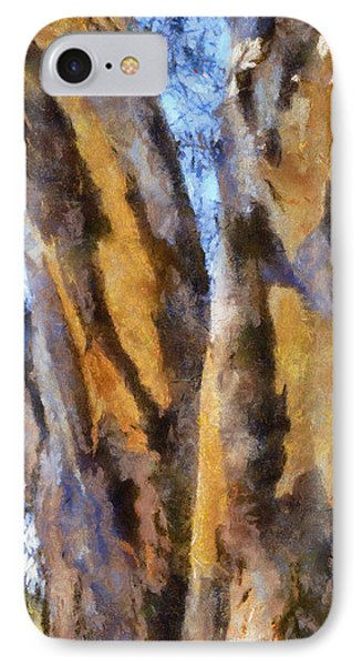 IPhone Case featuring the digital art Bark by Roberto Gagliardi