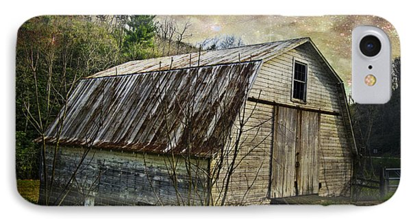Barn At Twilight IPhone Case