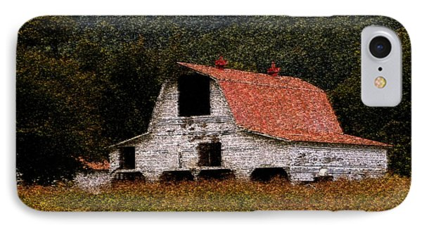 IPhone Case featuring the photograph Barn In Mountains by Lydia Holly