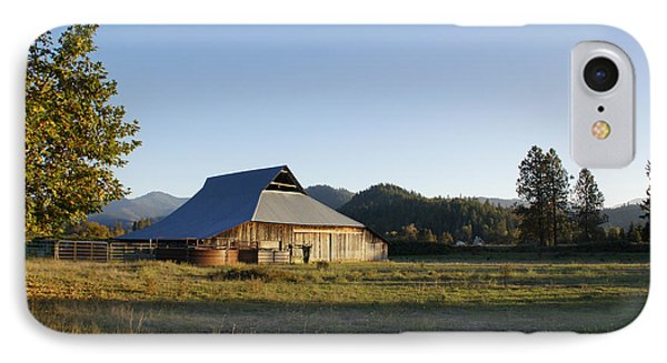 IPhone Case featuring the photograph Barn In The Applegate by Mick Anderson