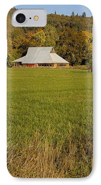 IPhone Case featuring the photograph Barn Near Murphy by Mick Anderson