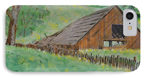 Barn On Hiway 20 Phone Case by Mick Anderson