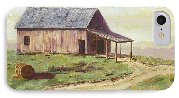 Barn On The Ridge IPhone Case by Alan Mager