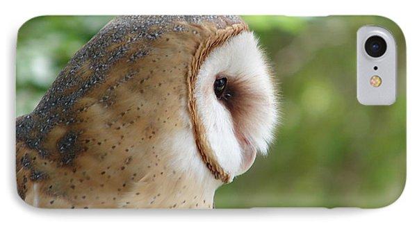 Barn Owl IPhone Case by Randy J Heath