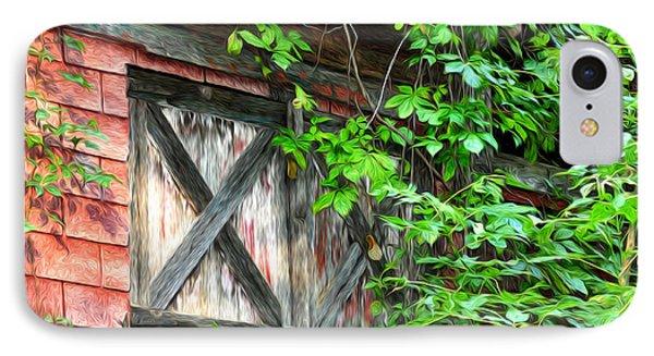 Barn Window Phone Case by Bill Cannon