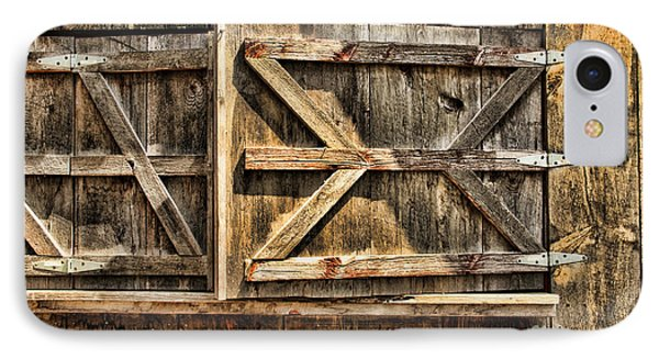 IPhone Case featuring the photograph Barn Wood Texture by Joanne Coyle