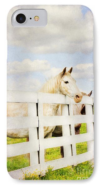 Barn Yard Dreamer Phone Case by Darren Fisher