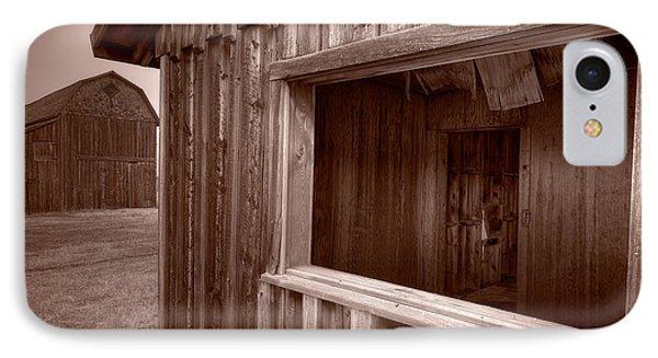 Barns Grand Tetons Phone Case by Steve Gadomski