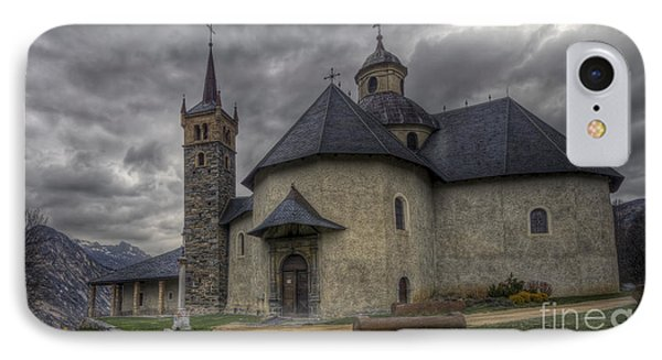 Baroque Church In Savoire France 6 IPhone Case