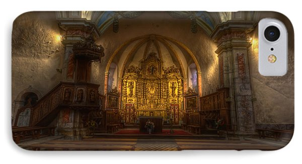 Baroque Church In Savoire France IPhone Case