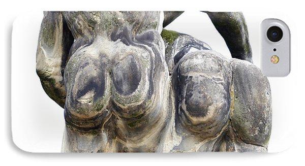Baroque Statue - Detail - Backside Phone Case by Michal Boubin
