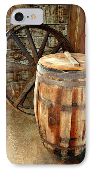 Barrel And Wheel Phone Case by Marty Koch