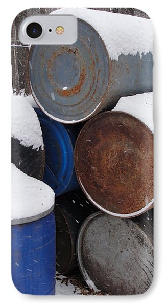 IPhone Case featuring the photograph Barrel Of Food by Tiffany Erdman