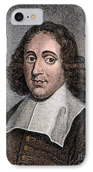 Baruch Spinoza (1632-1677) Phone Case by Granger