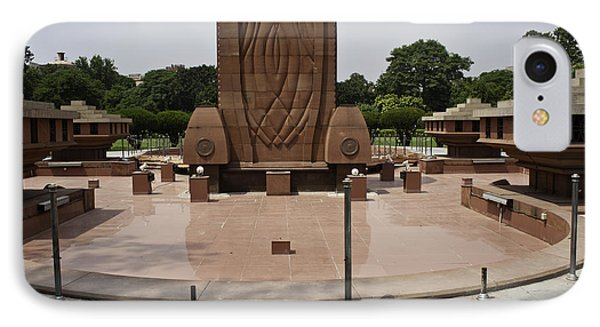 Base Of The Jallianwala Bagh Memorial In Amritsar IPhone Case by Ashish Agarwal