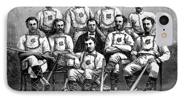 Baseball: Canada, 1874 Phone Case by Granger