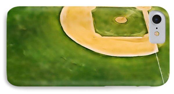 Baseball Phone Case by Patrick M Lynch