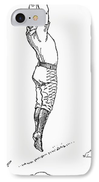 Baseball Player, 1889 Phone Case by Granger