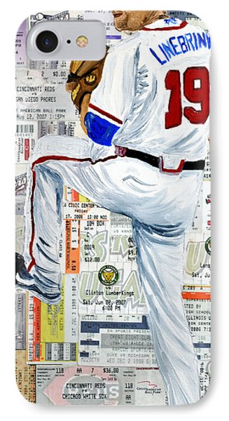 Baseball Tickets Phone Case by Michael Lee