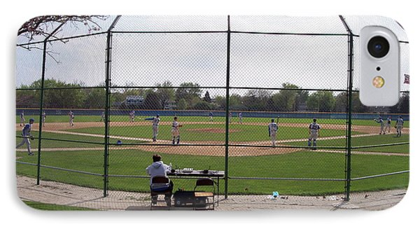 Baseball Warm Ups Phone Case by Thomas Woolworth