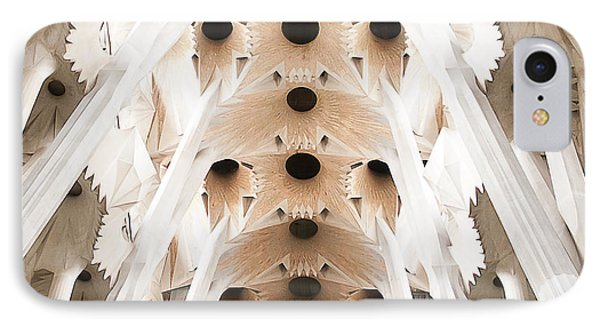 Basilica De La Sagrada Familia In Barcelona Phone Case by Beth Riser