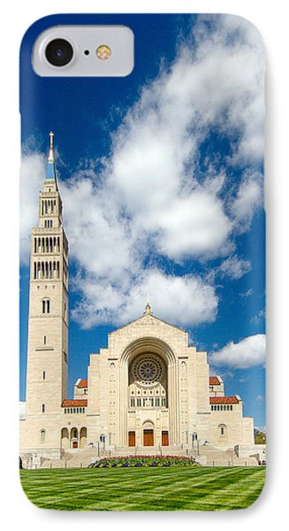 Basilica Of The National Shrine Of The Immaculate Conception IPhone Case