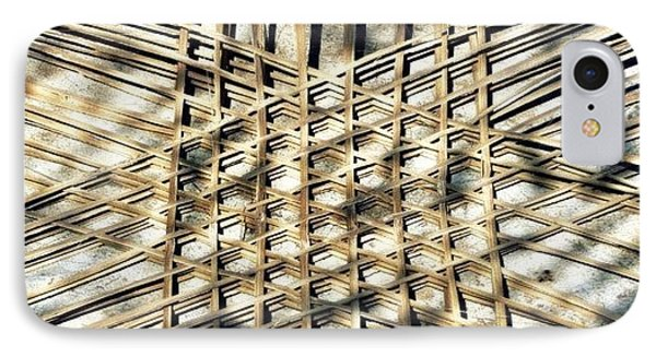 Basket Case.. Thailand #basketmaking IPhone Case