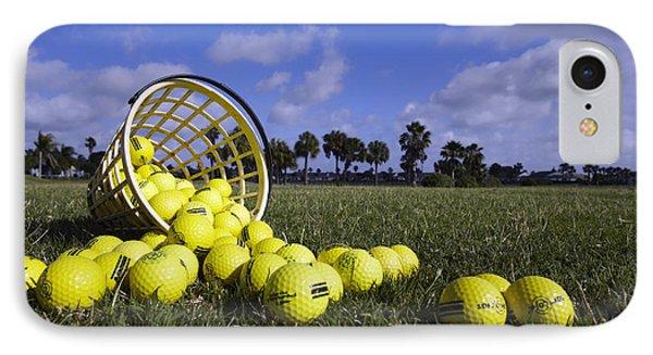Basket Of Golf Balls Phone Case by Skip Nall
