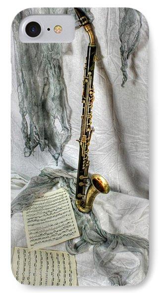 Bass Clarinet IPhone Case by Dan Stone