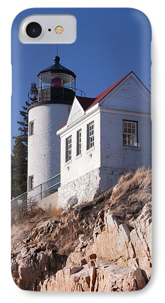 Bass Harbor Lighthouse Acadia National Park Phone Case by Glenn Gordon
